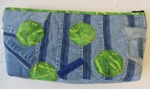 Necessär i Jeans