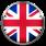 UK flag for English language