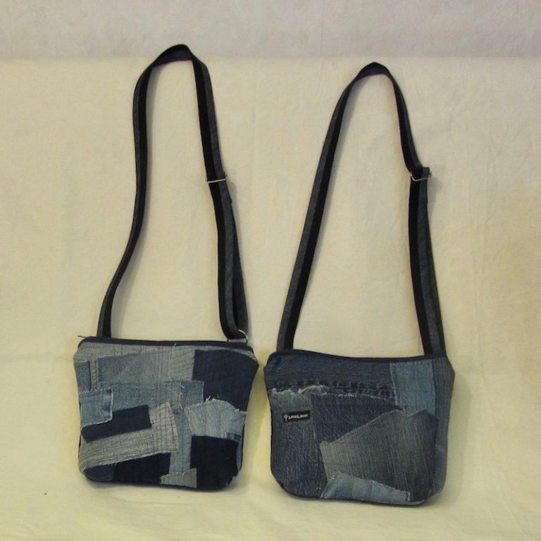 Väskor i jeans