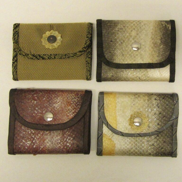 Plånbok i Fiskskinn